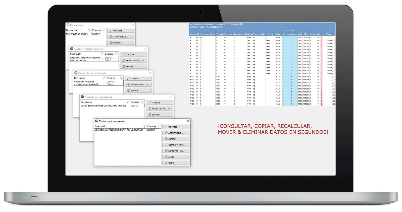 CPM - Colaboración y Automatismos - Gestión de Base de Datos