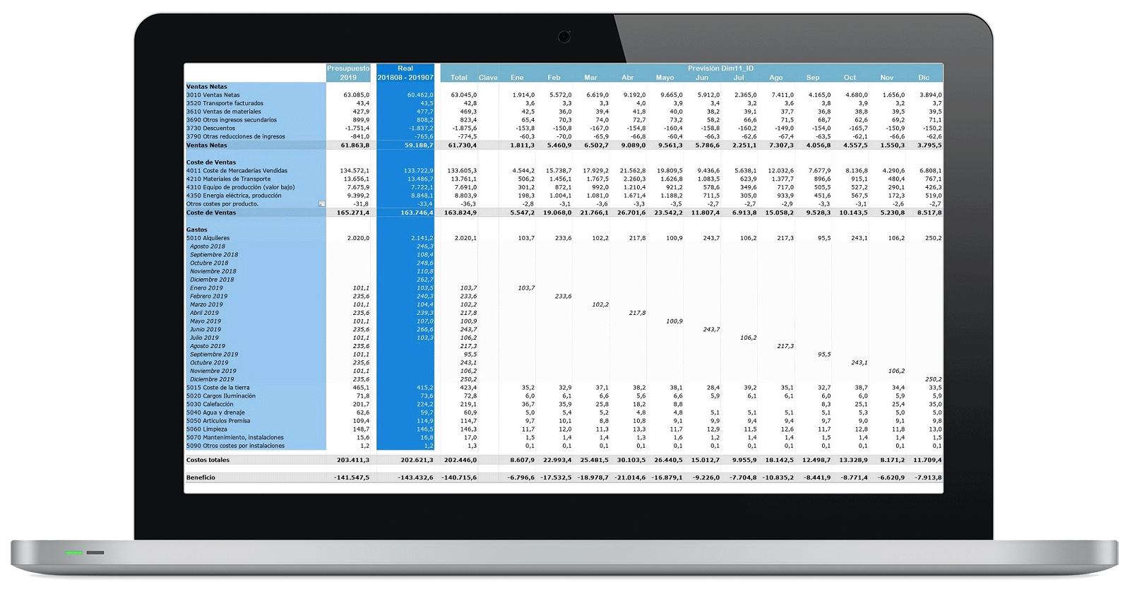 CPM: Consolidación & Cierre - Presupuesto y Forecast